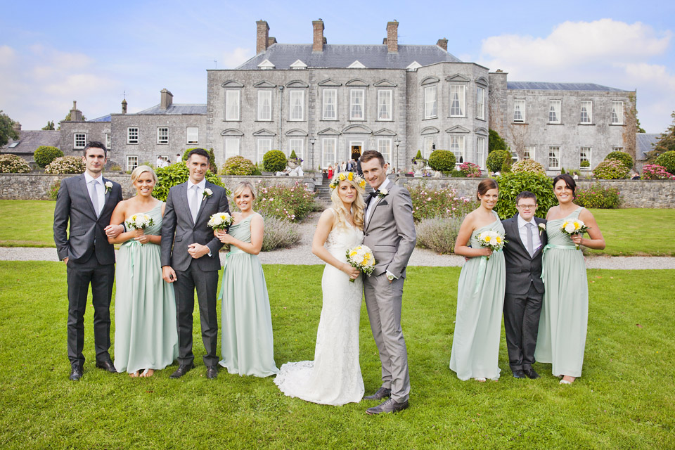 Real Weddings Castle Durrow: Sinead & Nialls Wedding At Castle Durrow